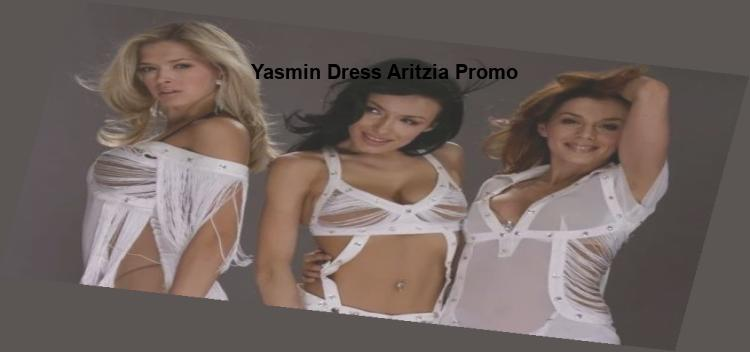 yasmin dress aritzia promo
